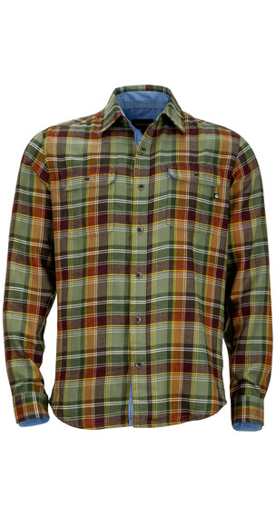 Marmot M's Jasper Flannel LS Shirt Winter Pine